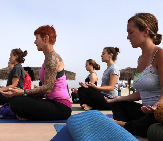 Ease Your Menopause Symptoms With These Yoga Poses